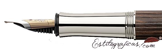 Plumín de Graf von Faber-Castell Clásica madera de grenadille