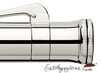 Doble ribete de rollerball Graf von Faber-Castell Classic Plata de Ley