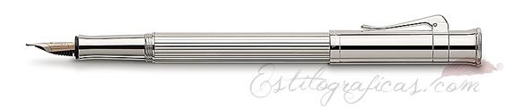 Pluma Estilográfica Graf von Faber-Castell Clásica Platino