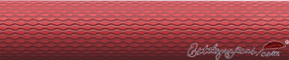 Detalle de grabado del roller Guilloche Coral de Graf von Faber-Castell