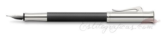 Pluma Estilográfica Graf von Faber-Castell Guilloche Negra