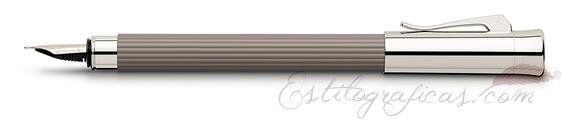 Pluma Estilográfica Graf von Faber-Castell Initio Gris 141530