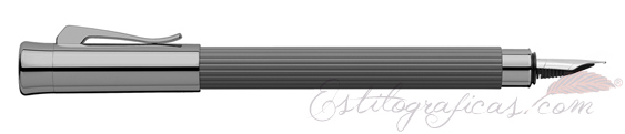 Pluma Estilográfica Graf von Faber-Castell Taminitio Gris piedra 141780