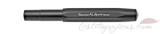 Kaweco AL Sport Negra Cerrada