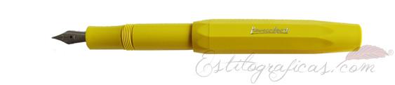 Estilográfica Kaweco Classic Sport amarilla