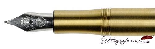 Plumín de estilográfica Kaweco Liliput Latón Liso