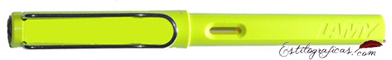 Pluma estilográfica Lamy Safari 13 Neon