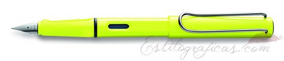 Pluma estilográfica Lamy Safari Neon Mod. 13