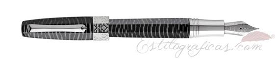 Pluma Estilográfica Montegrappa Extra Otto Zebra ISE8T_CZ