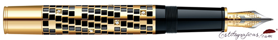 Pluma Estilográfica Parker Duofold Giant oro edición limitada
