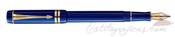 Pluma Estilográfica Parker Duofold Lapis Lazuli Centennial 1907183