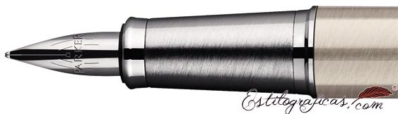 Plumín de Pluma Estilográfica Parker IM Acero Pulido CT