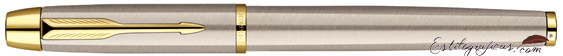 Pluma Estilográfica Parker IM Brushed Metal GT Cerrado