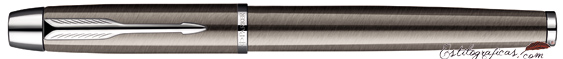 Pluma Estilográfica Parker IM Gun Metal CT Cerrado