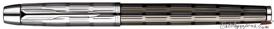 Pluma Estilográfica Parker IM Premium Twin Chiselled Cerrada