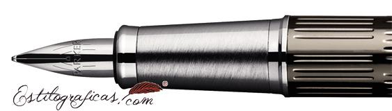 Plumín de Pluma Estilográfica Parker IM Premium Bicolor Chiselled