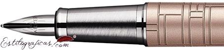 Plumín de Pluma Estilográfica Parker IM Premium Rosa Metálico