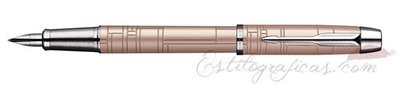 Pluma Estilográfica Parker IM Premium Metallic Pink S0949760