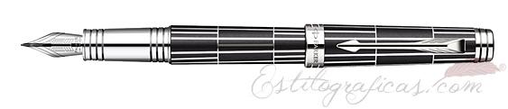 Pluma Estilográfica Parker Premier Luxury Black 1876380