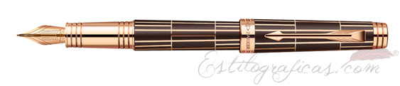 Pluma Estilográfica Parker Premier Luxury Brown 1876376