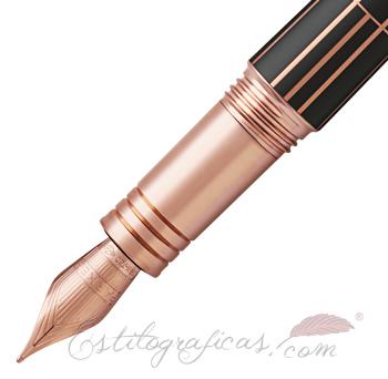 Plumín Estilográfica Parker Premier Luxury Brown