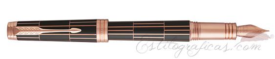Pluma Estilográfica Parker Premier Luxury Marrón 1931397