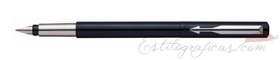 Pluma Estilográfica Parker Vector Estándar Negro S0282520
