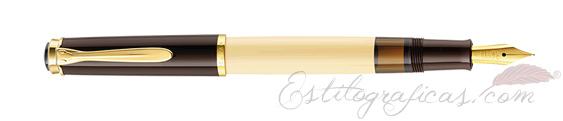 Estilográfica Pelikan Classic M 200 Café Crema edición especial 963439