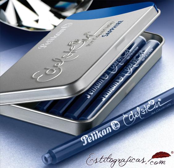 Estuche de cartuchos Edelstein para Pelikan Classic P200