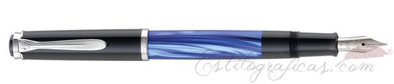 Estilográfica Pelikan Classic M 205 Azul Marmoleado