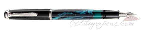 Pluma estilográfica Pelikan Classic M 205 Petrol Marbled 818544