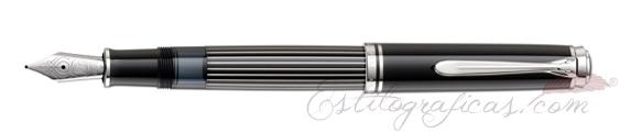Estilográfica Pelikan M 815 Metal Striped 809252