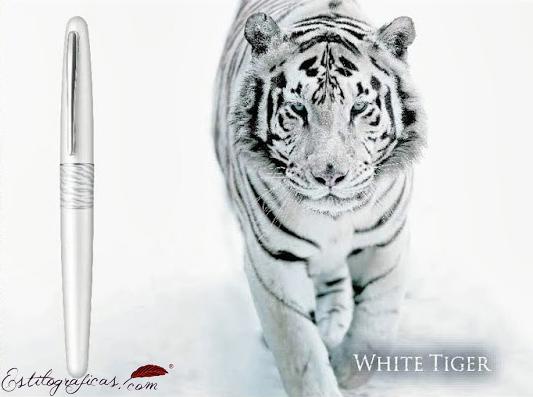 Publicidad de la Pilot Urban White Tiger