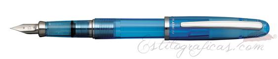 Pluma Estilográfica Platinum Balance Crystal Blue PGB-3000A 58