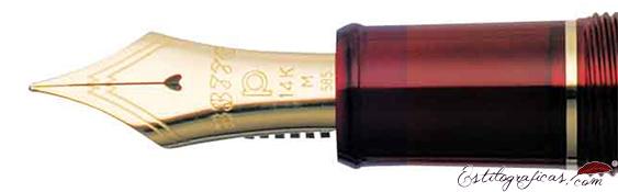 Plumín de Estilográfica Platinum Century 3776 Burdeos