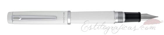 Pluma Estilográfica Platinum Procyon Porcelain White PNS-5000 #3