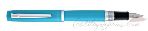 Pluma Estilográfica Platinum Procyon Turquoise Blue PNS-5000 #52