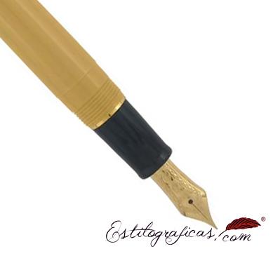 Plumín de estilográfica mustard yellow de la colección Sailor Sapporo Mini