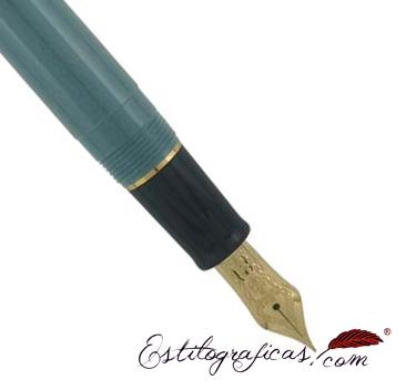 Plumín de estilográfica slate green de la colección Sailor PG Slim Mini