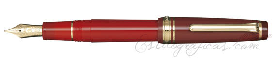Estilográfica Sailor Professional Gear Regular Kanreki Red