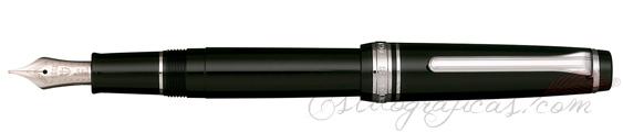 Estilográfica Sailor Professional Gear Slim Negro Cromo