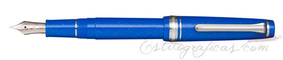 Pluma Estilográfica Sailor Professional Gear Slim Blue Dwarf