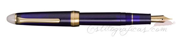 Estilográfica Sailor Shikiori Navy Blue Yonaga 11-0558-203