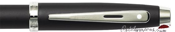 Detalle de las plumas estilográficas Gift 100 Negro Mate de Sheaffer
