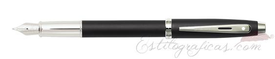 Plumas estilográficas Sheaffer Gift 100 Negro Mate Pavonado 9317-0
