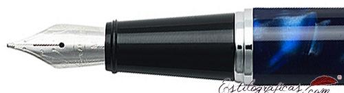 Plumín de plumas estilográficas Gift 300 Azul y Cromo de Sheaffer