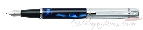 Plumas estilográficas Sheaffer Gift 300 Azul Amarmolado 9316-0