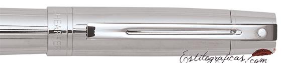 Detalle de las plumas estilográficas Gift 300 Cromadas de Sheaffer