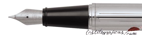 Plumín de plumas estilográficas Gift 300 Cromo de Sheaffer