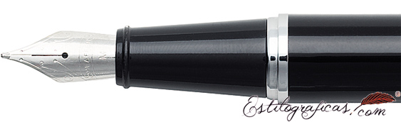Plumín de plumas estilográficas Gift 300 Negro Cromo de Sheaffer